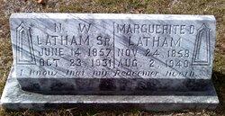 """Marguerite Drucilla """"Maggie"""" <I>Woolley</I> Latham"""