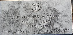 Christopher A Yankie