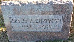 Leslie R Chapman