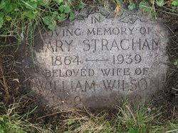 Mary <I>Strachan</I> Wilson