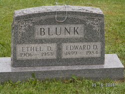Ethel Dora <I>Ridenour</I> Blunk