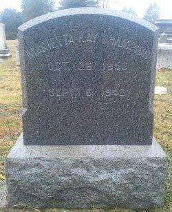 Marietta Kay Champion