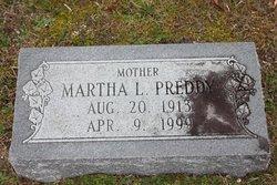 Martha <I>Lifsey</I> Preddy