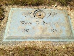 "Gertrude ""Wava"" <I>Fisher</I> Barter"