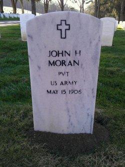 Pvt John H. Moran