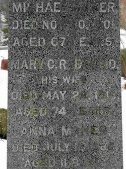 Mary C. <I>Redmond</I> Maher