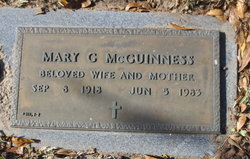 Mary G McGuinness