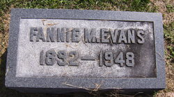 Fannie Mae <I>Landreth</I> Evans