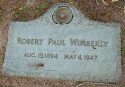 Robert Paul Wimberly