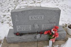 """Joyce """"Marlene"""" <I>Reeve</I> Knox"""