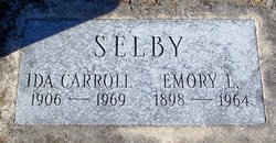 Ida May <I>Carroll</I> Selby