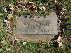 Frankie Stewart Thompson
