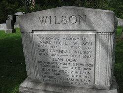 Jean <I>McGregor</I> Wilson