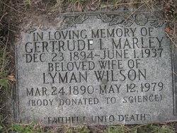Gertrude Lillian <I>Marley</I> Wilson
