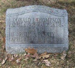 Ruth A <I>Pinney</I> Thompson