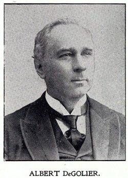 Albert E DeGolier