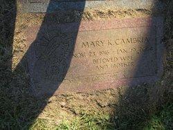 Mary K Cambria