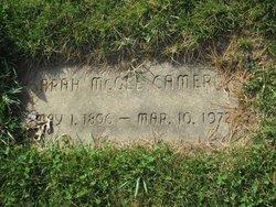 Sarah <I>McGee</I> Cameron