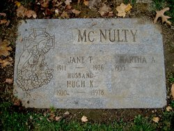 Jane T McNulty
