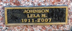 Lela M Johnson