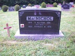 Frances Mary <I>Coles</I> MacNichol