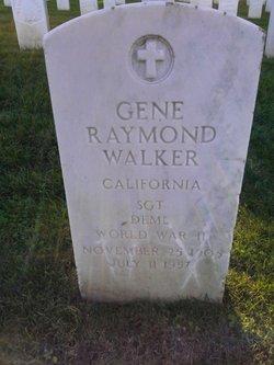 Sgt Gene Raymond Walker