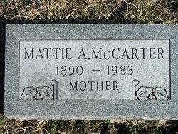Mattie A. McCarter