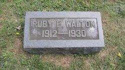 Ruby F. Walton