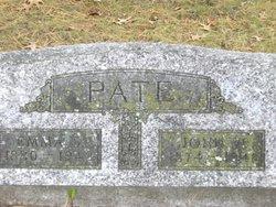 Emma S <I>Lashure</I> Pate
