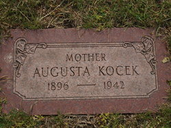 Augusta <I>Spevacek</I> Kocek