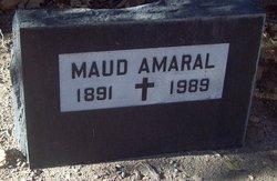 Maud Eliza <I>Ford</I> Amaral