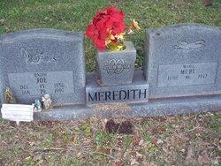 Willie Murl <I>Weeks</I> Meredith