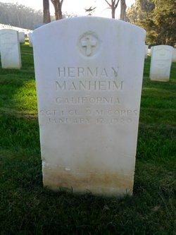 Sgt Herman Manheim