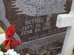 Bethel D Bartels