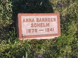 Anna Katharina <I>Bahnsen</I> Schelm