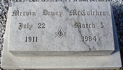 Mervin Dewey McCutcheon
