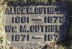 Alice M. Cuthbert