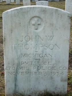 PFC John W. Thompson