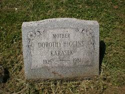 Dorothy <I>Higgins</I> Karasek