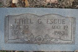Ethel G Escue