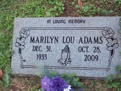 Marilyn Lou Adams