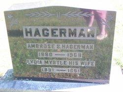 Lydia Myrtle <I>Clarke</I> Hagerman