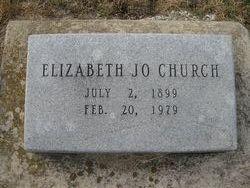 Elizabeth Jo <I>Haden</I> Church