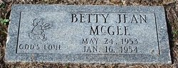 Betty Jean McGee