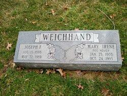 Mary Irene <I>Hoyer</I> Weichhand