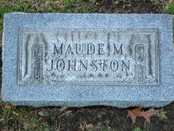 Maude M. <I>Edison</I> Johnston