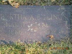 Bertha A Billings