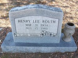 Henry Lee Routh