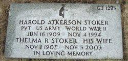 Harold Atkerson Stoker