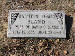 Kathleen <I>Lomax</I> Bland